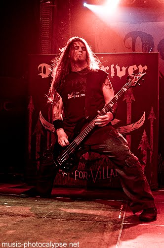 DRIVER FOR MILLER LEAVES DEVILDRIVER